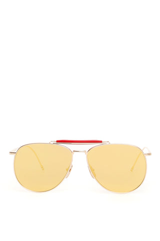 Thom Browne Mirrored Lens Aviators