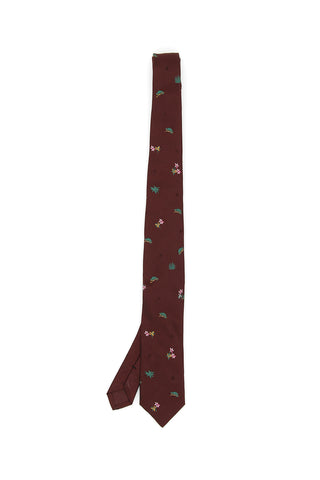 Prada Bad Animals Tie