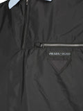 Prada Zip Detail Polo Shirt