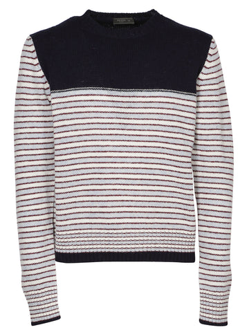 Prada Stripe Knit Sweater