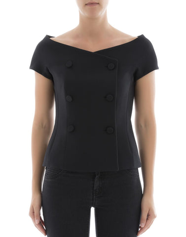 Dior Double Breasted Tailored Top