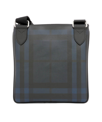Burberry Beckley Check Messenger Bag