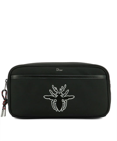 Dior Homme Bee Print Toiletry Bag