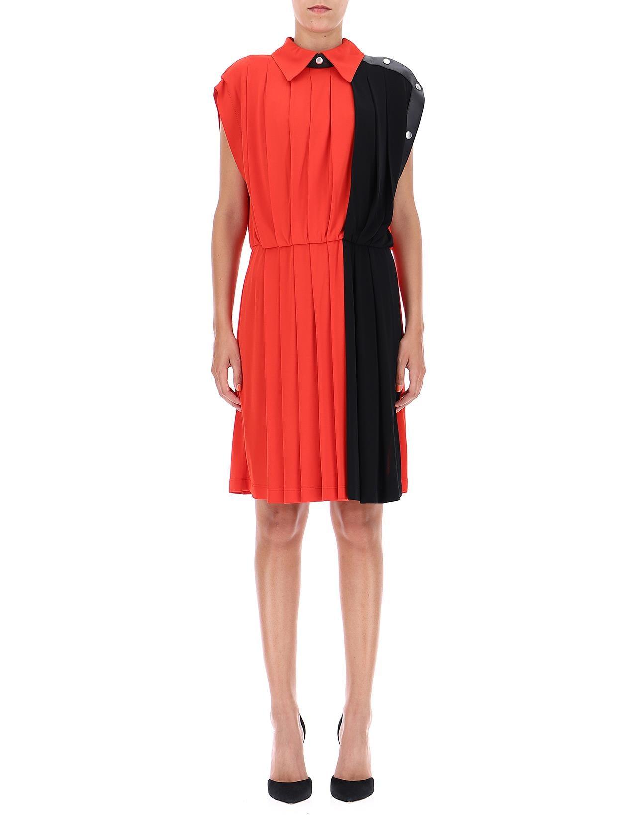 GIVENCHY GIVENCHY ROUND NECK SLEEVELESS DRESS