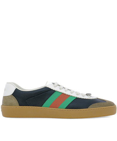 Gucci G74 Web Sneakers