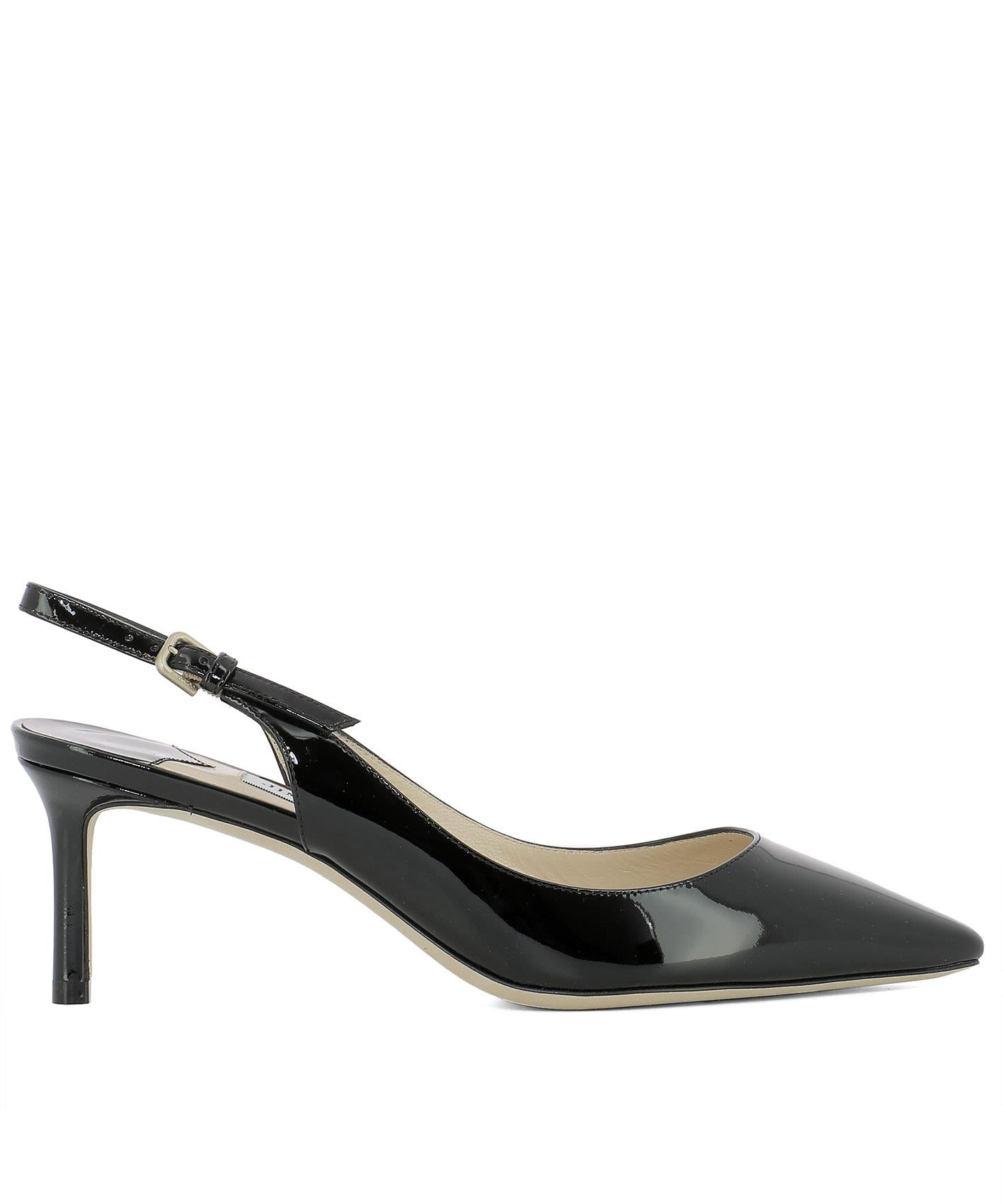 JIMMY CHOO ERIN 60 SLINGBACK PUMPS