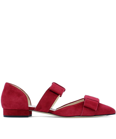 Thom Browne Bow Ballerina Flats