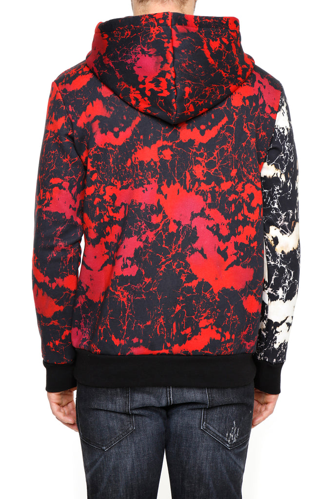 bf687c9adc8 Balmain Contrasting Print Hoodie – Cettire