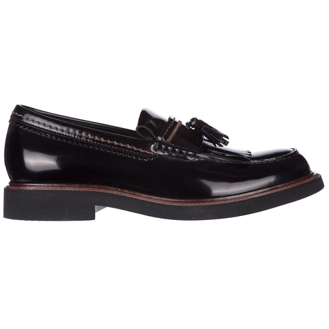 Tod's Patent Tassel Detail Loafers
