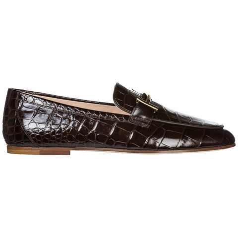 Tod's Double T Logo Loafers Style Shoes