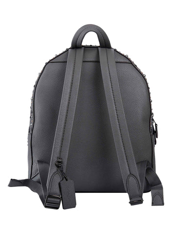 For Sale Online Store Campus Embellished Leather Backpack - Only One Size / Grey Coach Pay With Paypal Sale Online Free Shipping Shop For jGL49Scz
