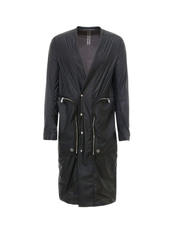 Rick Owens Zipped Pocket Midi Jacket