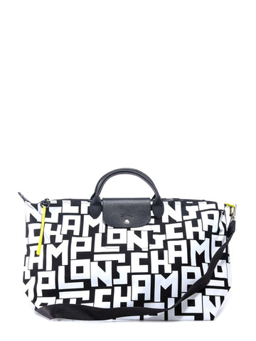 Longchamp Monogram Printed Travel Bag