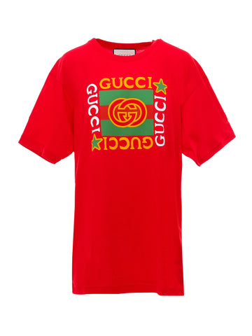 Gucci Logo Star Printed T-Shirt