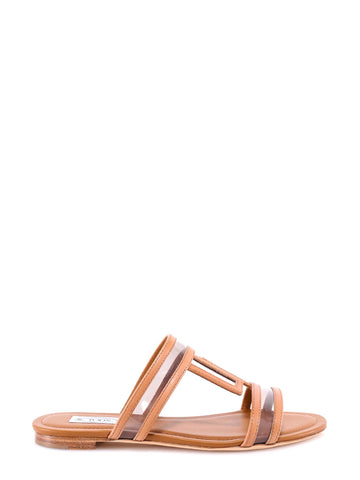 Tod's T-Bar Sandals