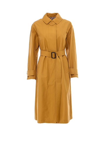 Max Mara The Cube Single Breasted Belted Trench Coat