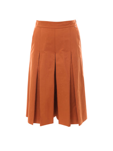 Sportmax Code Wide Leg Pleated Trousers
