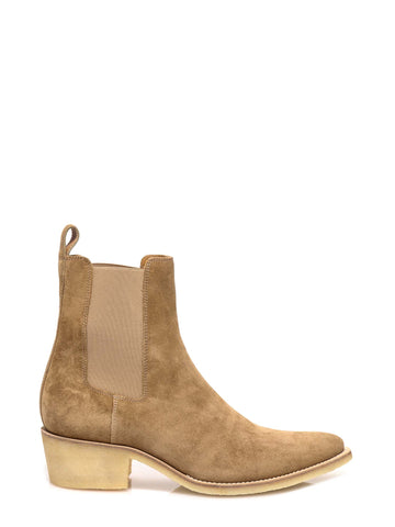 Amiri Side Panelled Ankle Boots