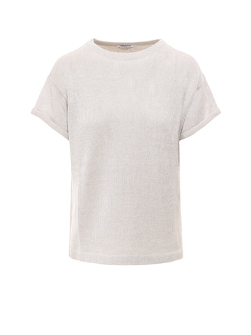 Brunello Cucinelli Knitted Crewneck Top
