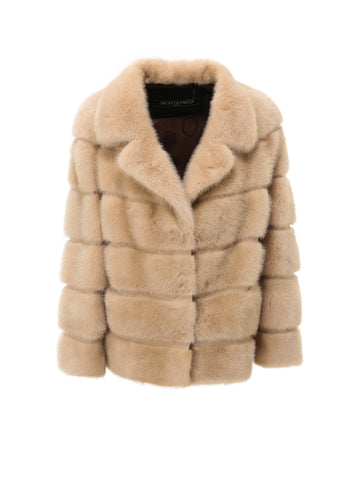 Simonetta Ravizza Quilted Fur Jacket