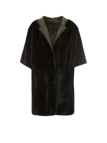 Simonetta Ravizza Collared Fur Coat