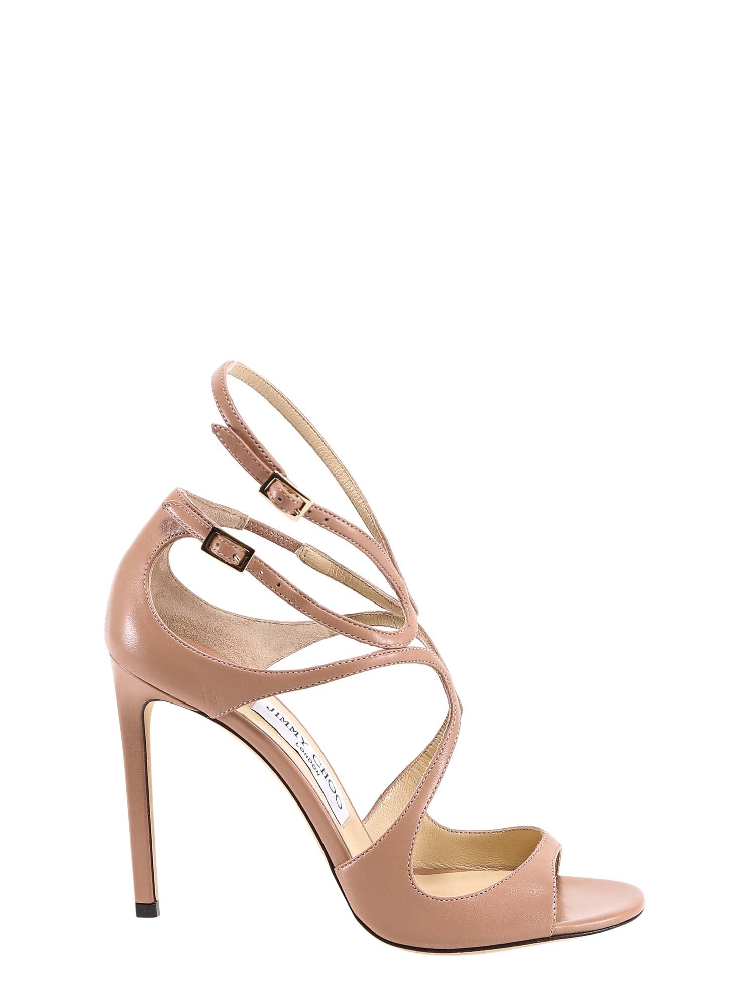Jimmy Choo JIMMY CHOO LANG HEELED SANDALS