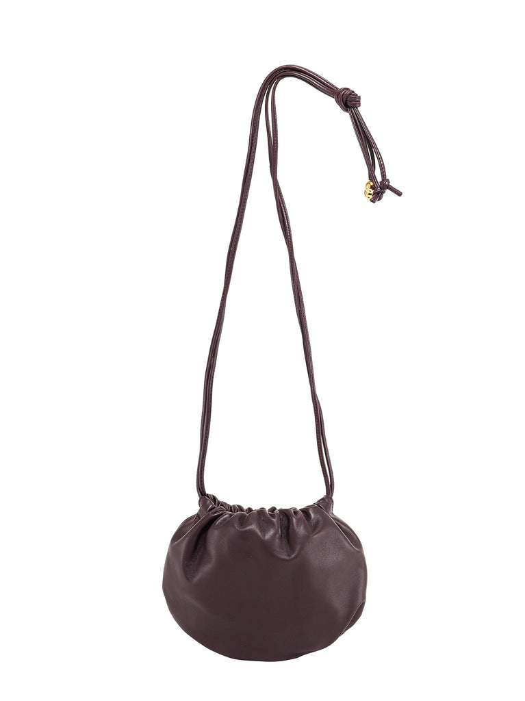 Bottega Veneta The Bulb Shoulder Bag In Purple