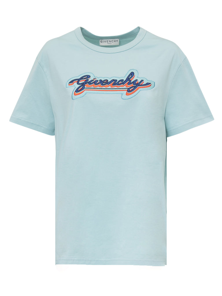 Givenchy Cottons GIVENCHY PATCH EMBROIDERED T