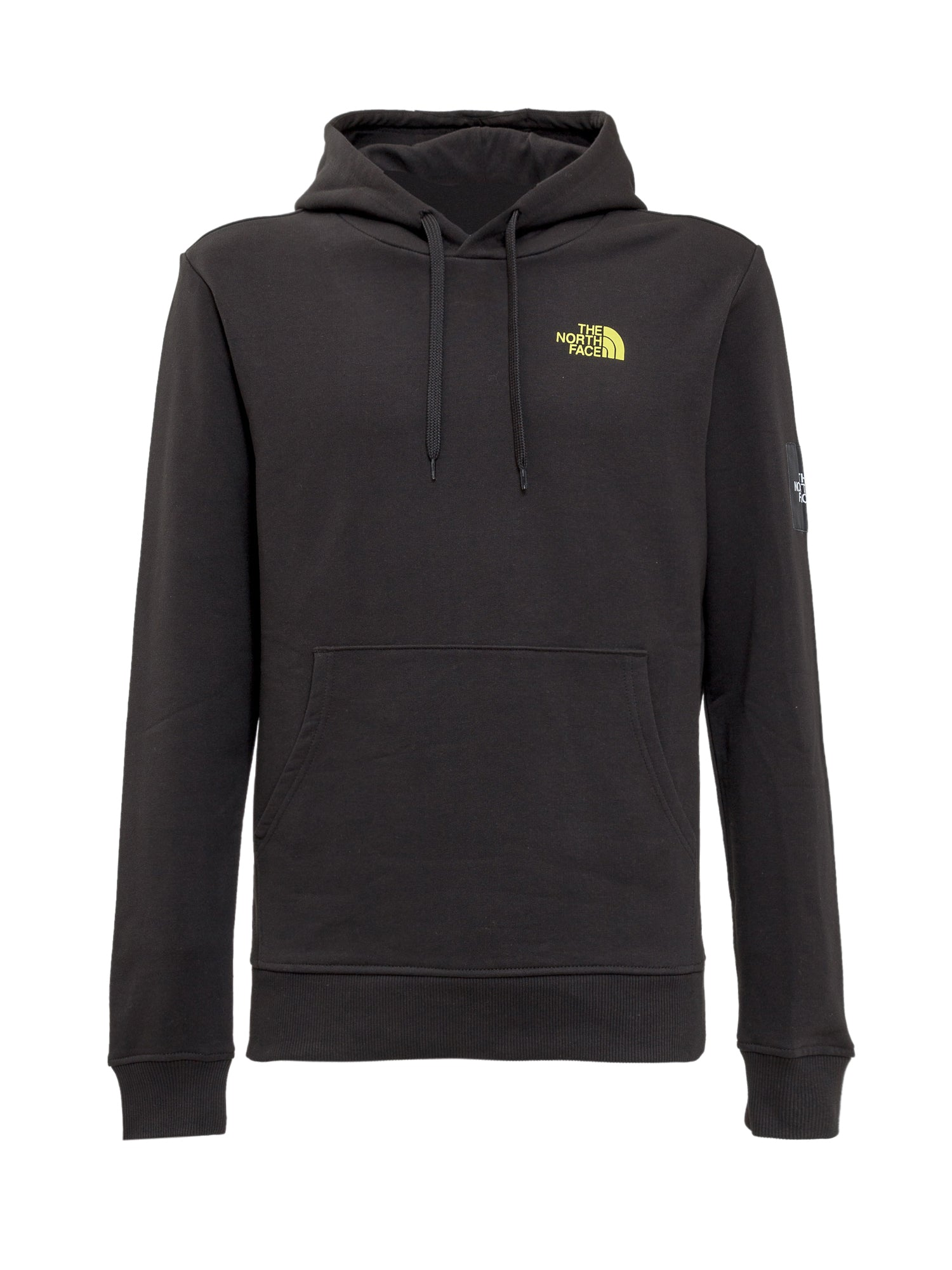 The North Face Cottons THE NORTH FACE LOGO PRINTED HOODIE
