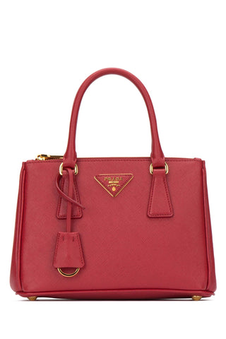 Prada Mini Galleria Logo Tote Bag