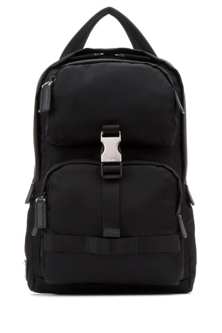 Prada Buckle Crossbody Backpack