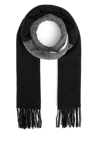 Bally Fringed Stripe Detail Scarf