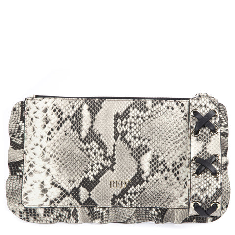 Red Valentino Animal Printed Clutch