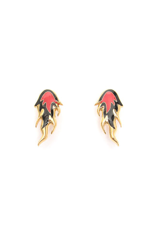 Ambush Flaming Studded Earrings