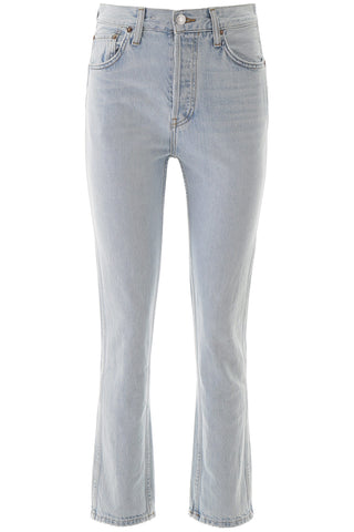 RE/DONE High-Waisted Slim Fit Jeans