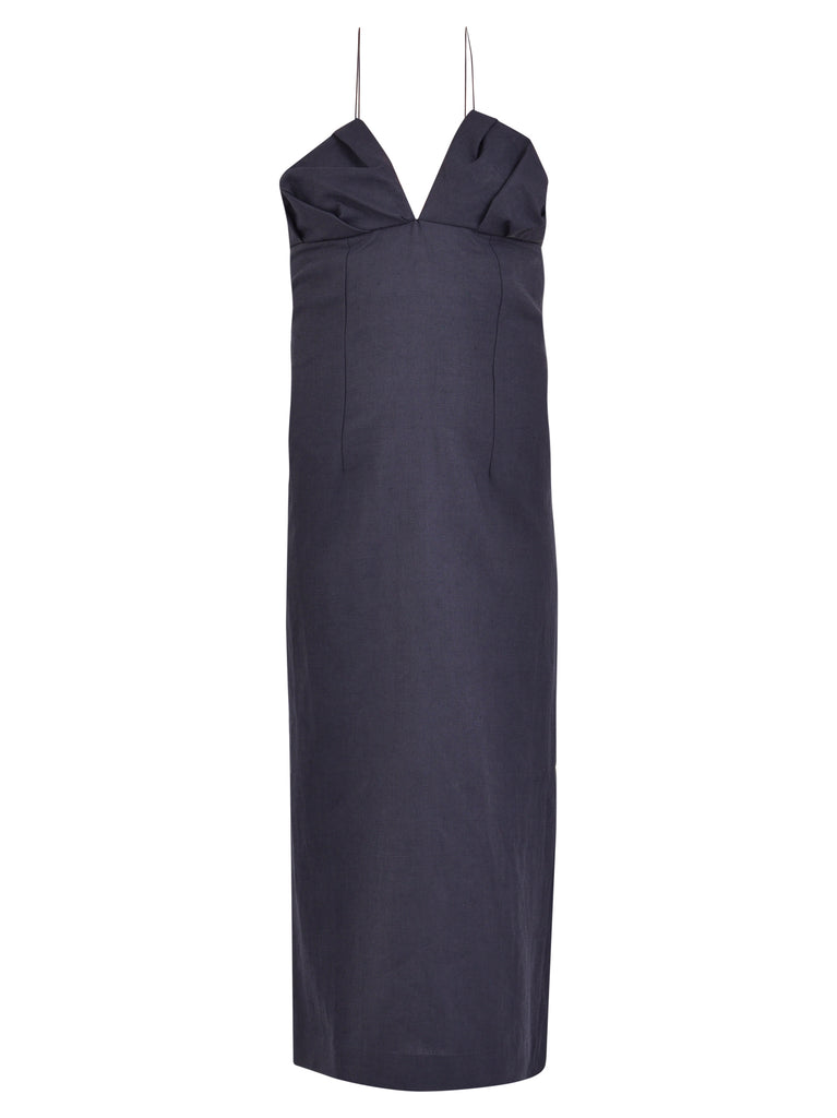 Jacquemus Dresses JACQUEMUS HALTER NECK MIDI DRESS