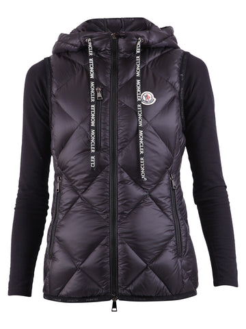 Moncler Diamond Quilted Logo Gilet