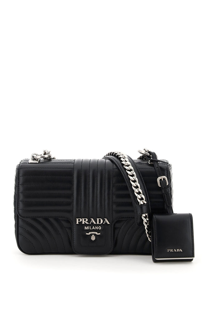 Prada PRADA DIAGRAMME MEDIUM SHOULDER BAG