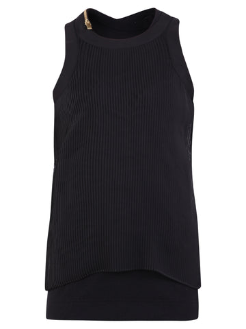 Sacai Ribbed Tank Top