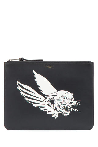 Givenchy Wings Zipped Pouch