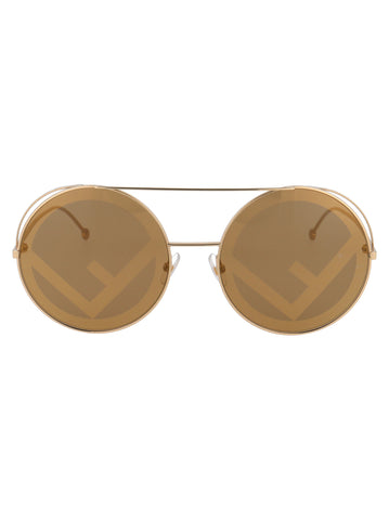 Fendi Eyewear Aviator Sunglasses
