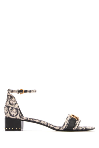Salvatore Ferragamo Gancini Printed Sandals