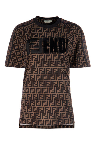 Fendi Monogram Printed T-Shirt