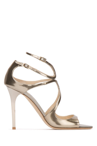 Jimmy Choo Metallic Lang Sandals