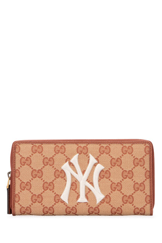Gucci GG New York Yankees Zipped Wallet
