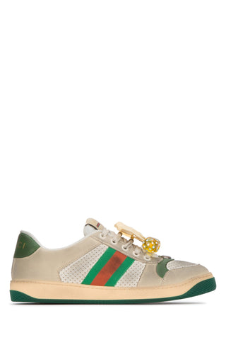 Gucci Screener Embellished Sneakers