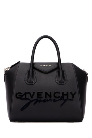 Givenchy Small Antigona Signature Logo Tote Bag