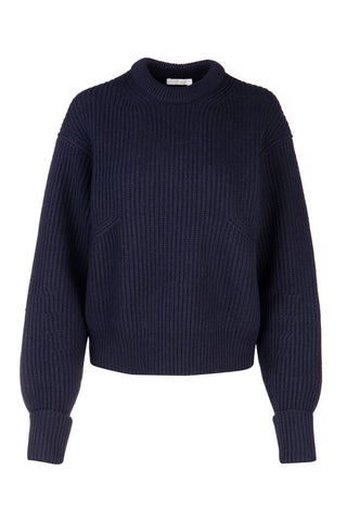 Chloé Ribbed Crew Neck Knit