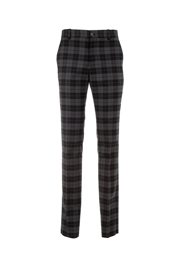 Balenciaga Tailored Check Trousers