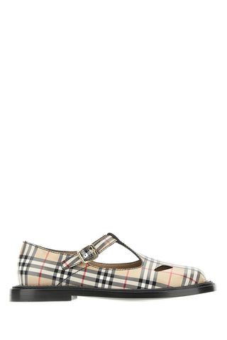 Burberry Vintage Check T-Bar Shoes